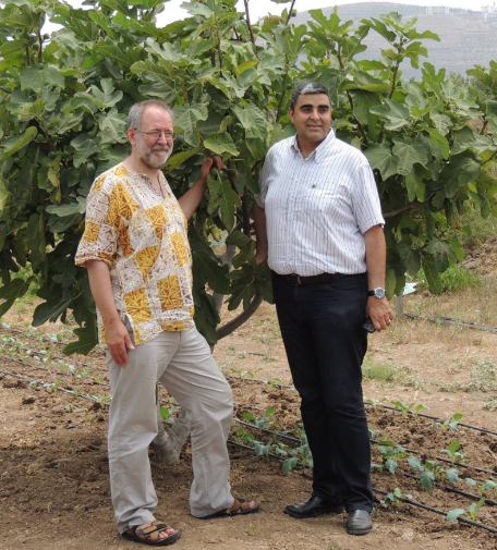 Exclusive interview with Bruce Crowther (left), the founder of Fair Trade Town movement.